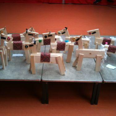 Paard Timmeren