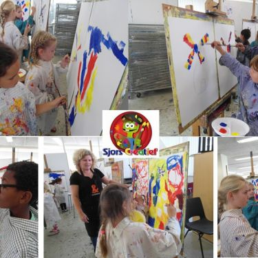 Creatief met Sjors bij Kunst & Co