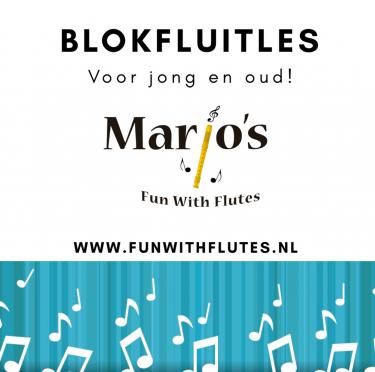Logo Marjo's Fun With Flutes