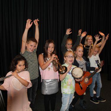 Snuffelen aan Muziek! groep 2, Roosendaal.